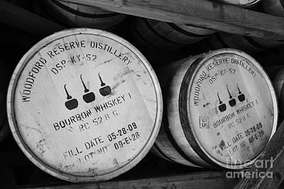 Bourbon Barrels Art Print