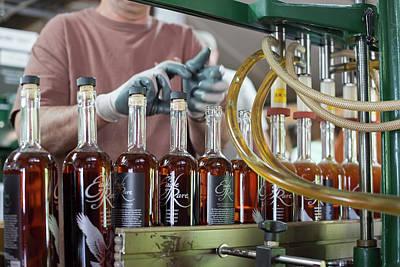 Bourbon Bottling Production Line Art Print