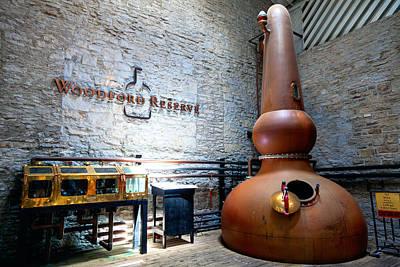 Bourbon Distillery Art Print by Alexey Stiop