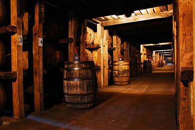 Bourbon Storage Art Print by James Kirkikis
