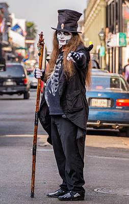 New Attitudes Photograph - Bourbon Street Denizon by Steve Harrington