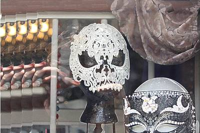 Photograph - Bourbon Street Masks by Donna G Smith