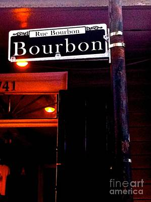 Photograph - Bourbon Street New Orleans by Saundra Myles