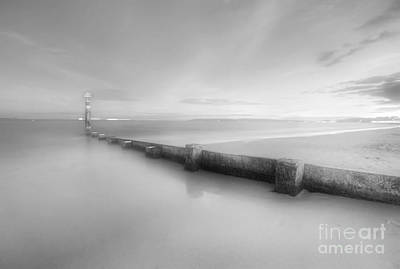 Photograph - Bournemouth Beach Sunset Ir by Yhun Suarez