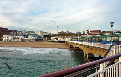 Photograph - Bournemouth From The Pier by Terri Waters