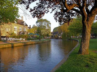 Bourton On The Water 3 Art Print