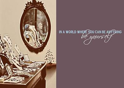 Boutique Quote Art Print by JAMART Photography