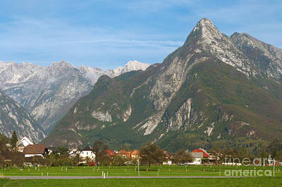 Photograph - Bovec In Slovenia by Phil Banks