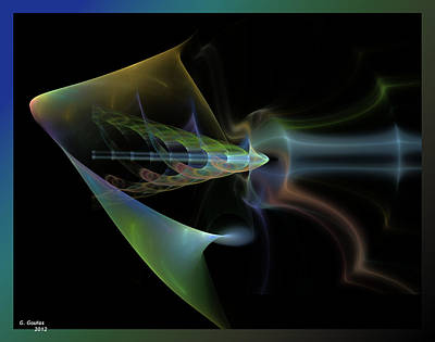 Digital Art - Bow And Arrow by George Goulas