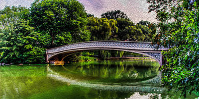 Photograph - Bow Bridge 2 by David Hahn