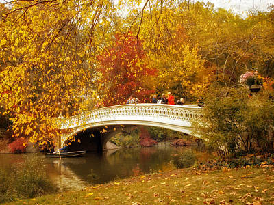 Photograph - Bow Bridge Charm by Jessica Jenney