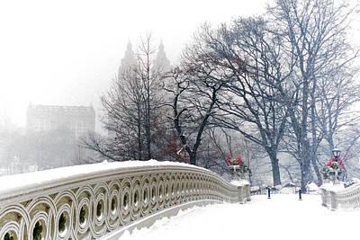 Photograph - Bow Bridge Dreamscape by Cornelis Verwaal