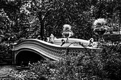 Photograph - Bow Bridge In Central Park by Mike Martin