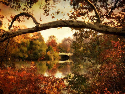 Photograph - Bow Bridge Views by Jessica Jenney