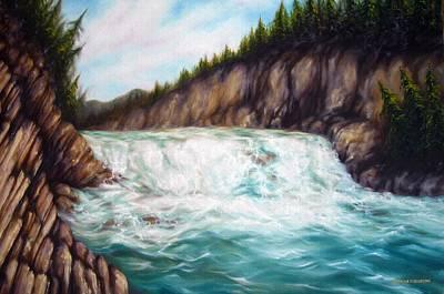 Bow Falls Original by Kristina Steinbring