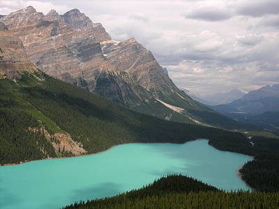 Photograph - Bow Lake Alberta Canada by Robert Lozen