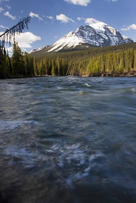 Bow River At Lake Louise Art Print