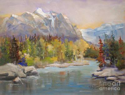 Bow River  Banff Original by Mohamed Hirji