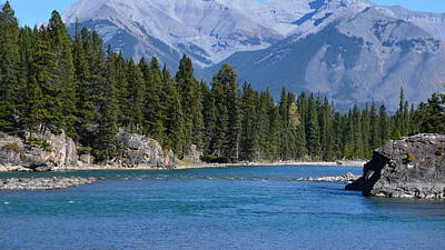 Bow River  Art Print by Cheryl Miller