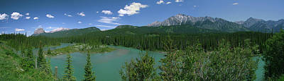 Photograph - Bow River Panorama by Philip Rispin