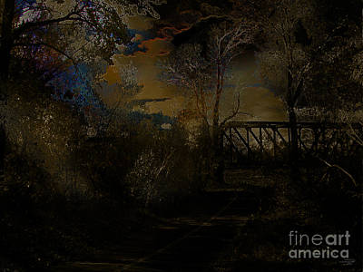 Digital Art - Bow River Pathway by Stuart Turnbull