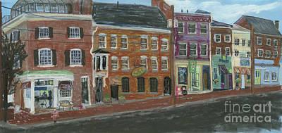 Pastel - Bow Street #1 by Francois Lamothe
