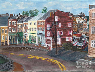 Pastel - Bow Street #2 by Francois Lamothe