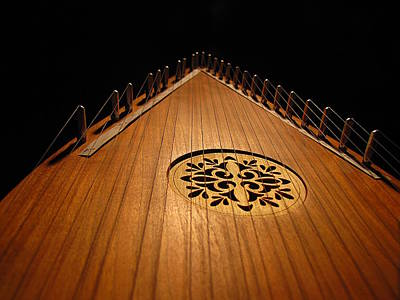 Bowed Psaltery Art Print by Greg Simmons