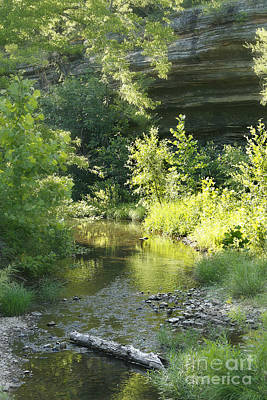 Photograph - Bowen Creek In The Ozarks by Garry McMichael