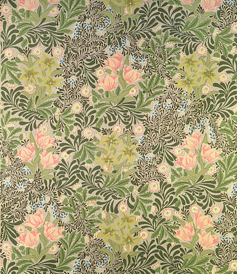 Arts And Crafts Tapestry - Textile - Bower Design by William Morris