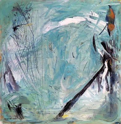 Baselitz Painting - Bowerbird Nest by Antonio Ortiz