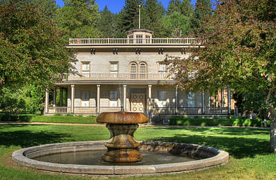 Photograph - Bowers Mansion by Donna Kennedy