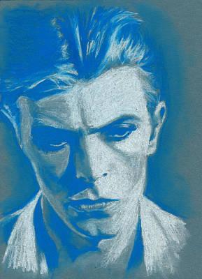 David Bowie Drawing - Bowie 2 by Teresa Beveridge