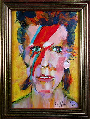 Painting - Bowie by Les Leffingwell