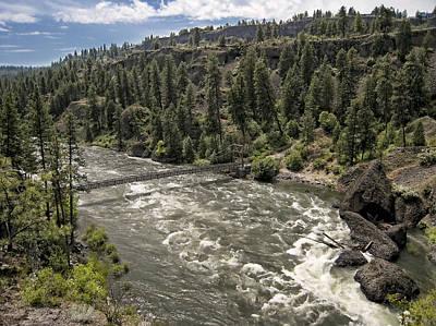 Spokane River Photograph - Bowl And Pitcher Area - Riverside State Park - Spokane Washington by Daniel Hagerman