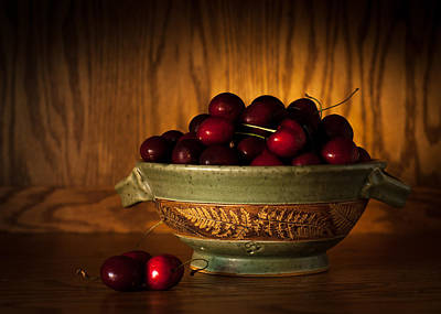 Photograph - Bowl Of Cherries by Wayne Meyer