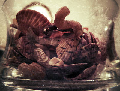 Photograph - Bowl Of Sanibel Island Shells by Patricia Januszkiewicz
