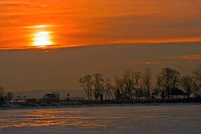Landscape Photograph - Bowline Sunrise by Gerri MacIlvane