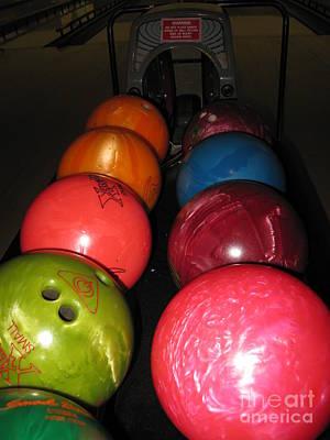 Photograph - Bowling Balls by Ausra Huntington nee Paulauskaite