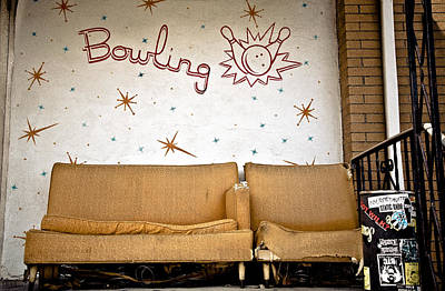 Photograph - Bowling by Jeff Adkins
