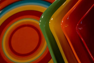Photograph - Bowls And Plates by Roger Mullenhour