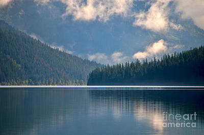 Photograph - Bowman Lake by Steve Stuller