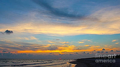 Bowman's Beach Sunset Art Print