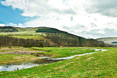 Vale Photograph - Bowmont Valley by Tom Gowanlock
