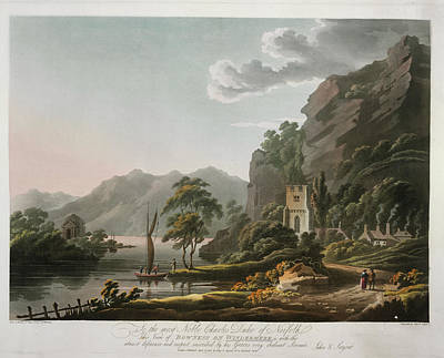 Bowness On Windermere Art Print by British Library