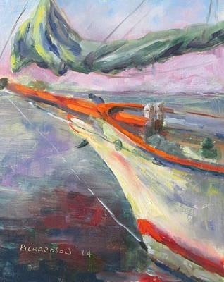 Susan L Richardson Art Painting - Bowsprit by Susan Richardson