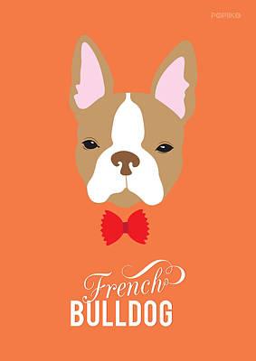 Bowtie Dogs Art Print by Popiko Shop