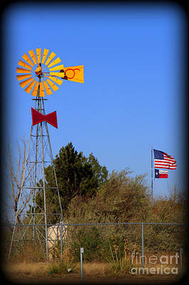 Photograph - Bowtie Windmill by Jim McCain