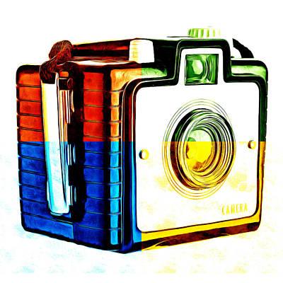 Warhol Photograph - Box Camera Pop Art 3 by Edward Fielding