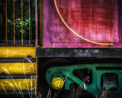 Photograph - Boxcar Color by James Barber